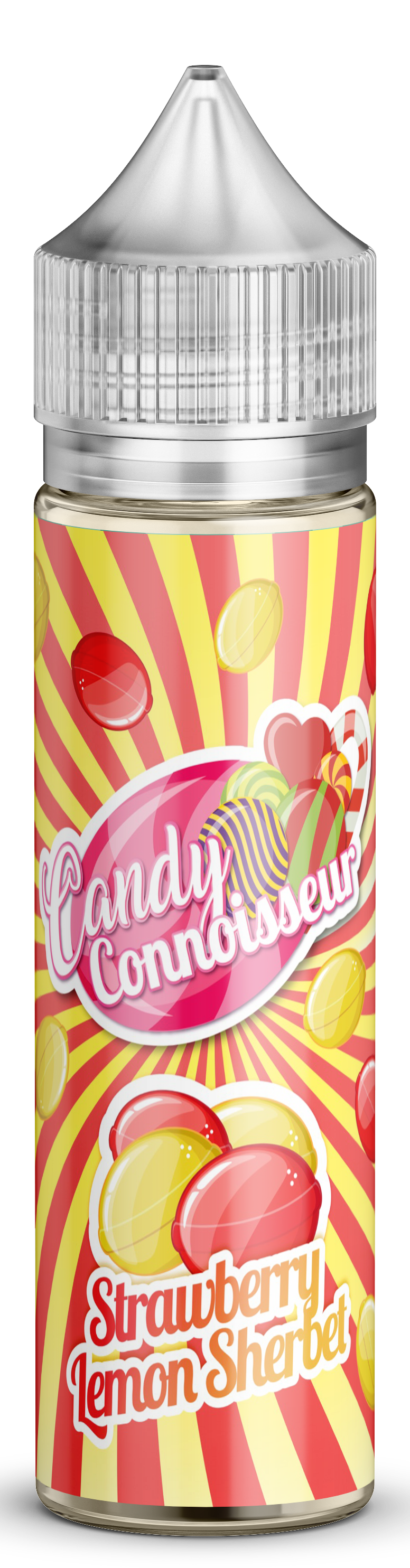 Strawberry & Lemon Sherbet - Candy 50ml