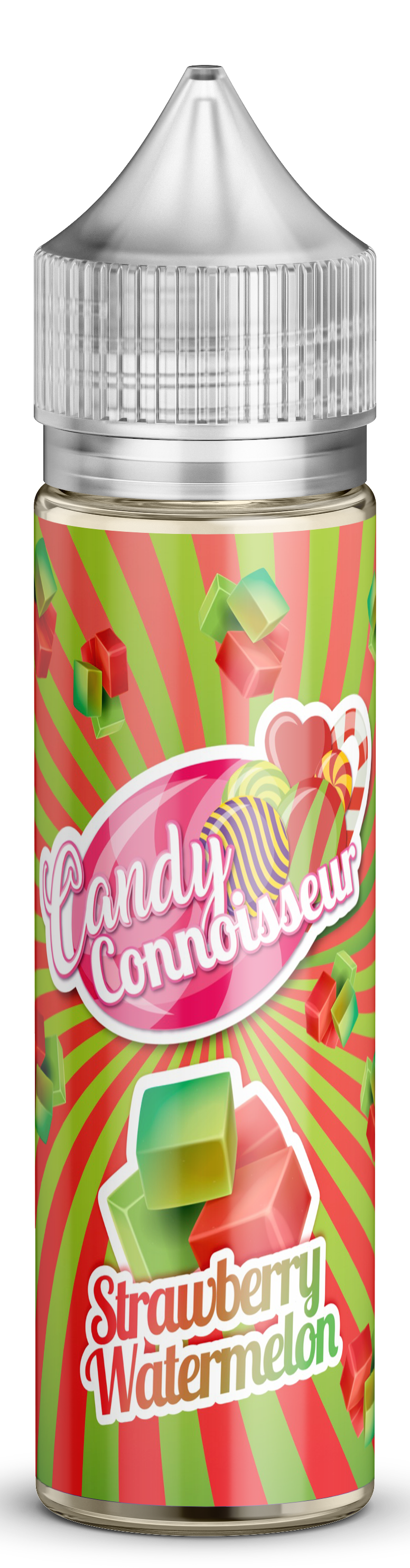 Strawberry & Watermelon Chews - Candy 50ml
